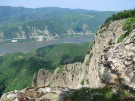 Danube Gorges The Natural Park Portile de Fier trescovat peak