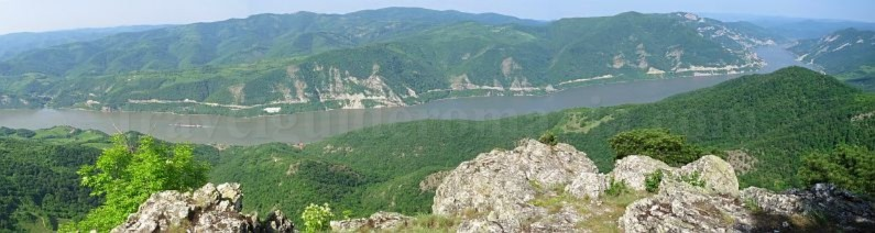 The Natural Park Portile de Fier trescovat route danube gorges