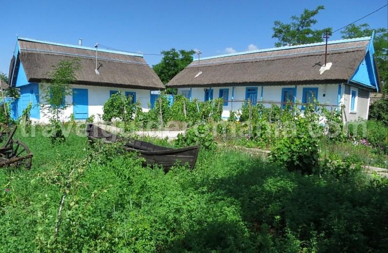 Danube Delta Nature Reserve letea village