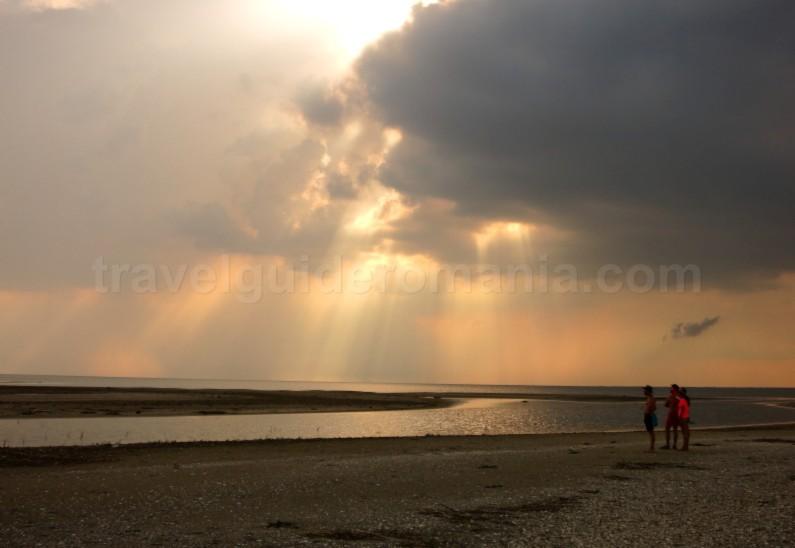 Danube Delta Nature Reserve sacalin beach
