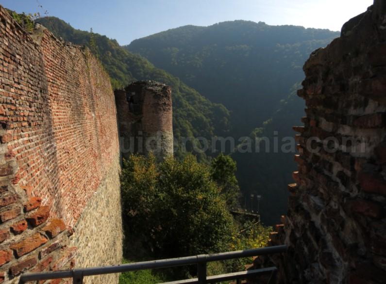 Citadel of Vlad tepes transfagarasan
