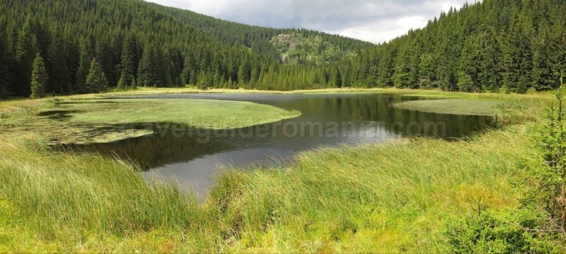Lake Latoritei romanian mountains