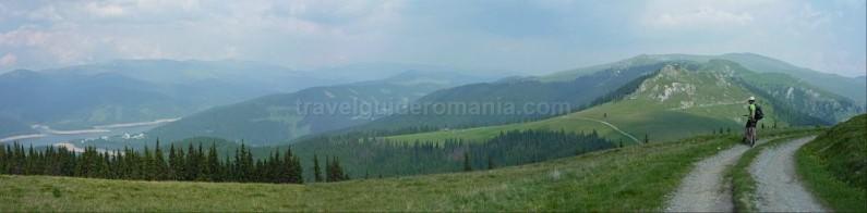 latoritei mountains romania Puru peak strategic road mountain-biking mtb