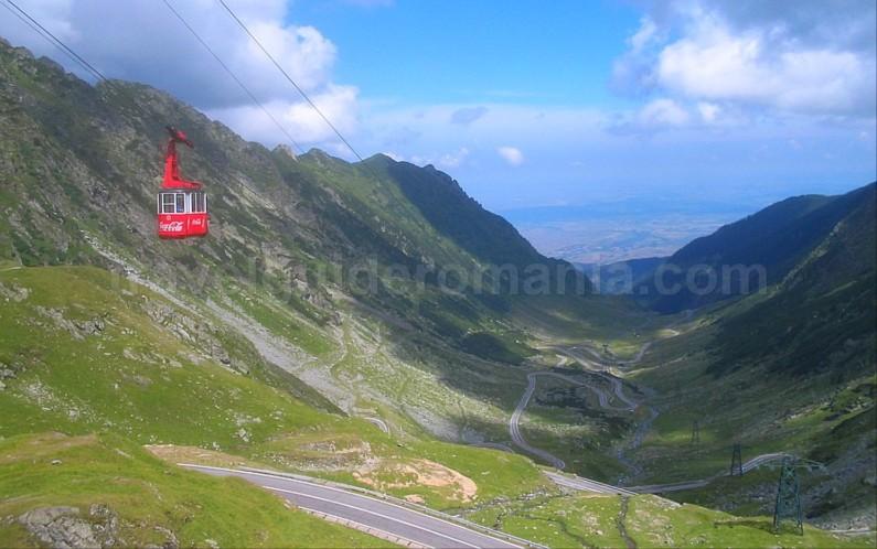 transfagarasan cable car