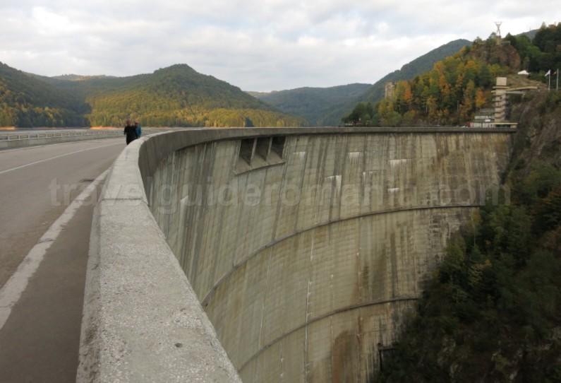 transfagarasan vidraru dam