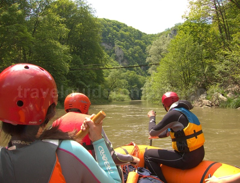 Natural Reservation Cheile Nerei – Beusnita rafting vogiun bridge