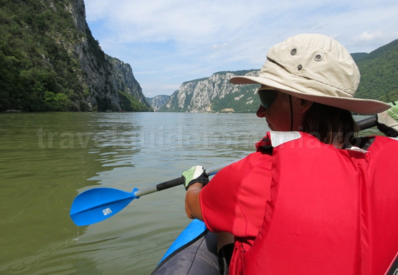 The Danube Cauldrons kayak
