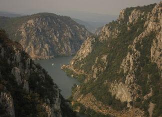 The Danube Cauldrons natural park portile de fier the iron gates
