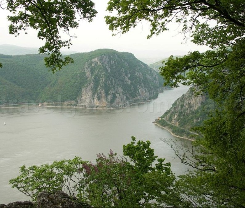 The Danube Cauldrons the iron gates dubova bay
