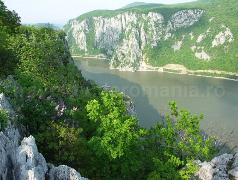 The big Cauldrons danube gorges the iron gates