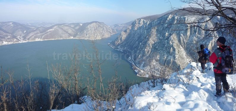 The big Cauldrons danube natural park portile de fier the iron gates dubova