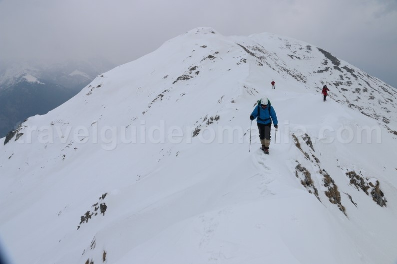 Mountain guide in Romania - ski touring