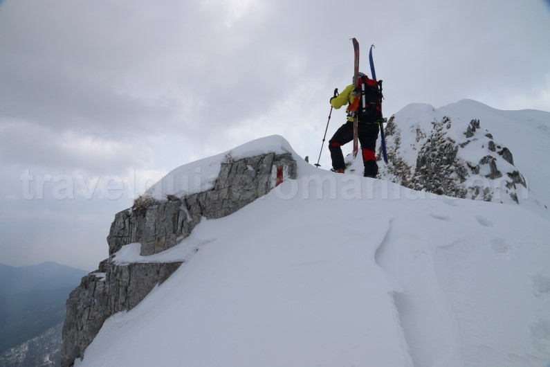 Mountaineering guided trips in Romania - Oslea ridge