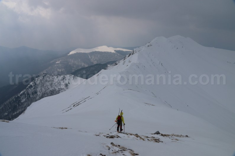 Ski touring guided trips in Romania