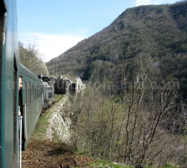 anina oravita the oldest mountain railway in Romania garliste gorges