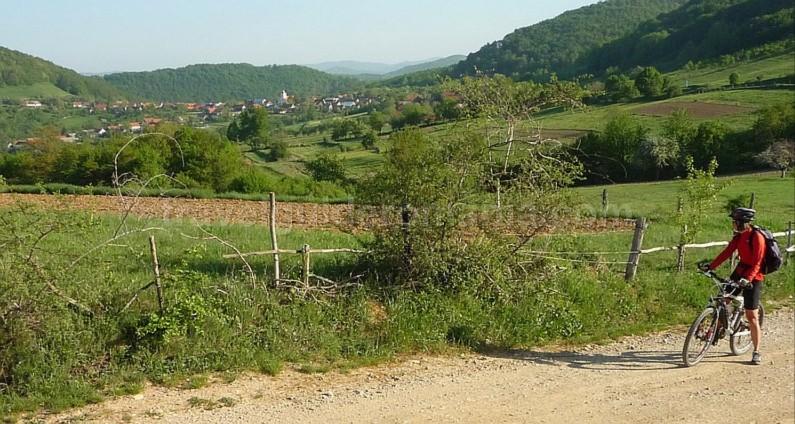 czech village Banat Mountains Natural Park Portile de Fier bigar