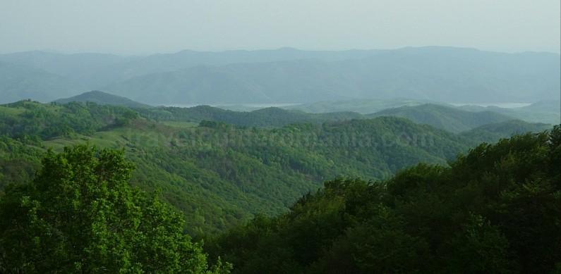 czech village Banat Mountains Natural Park Portile de Fier danube
