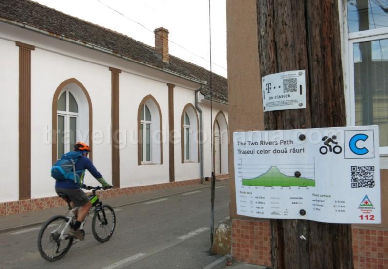 czech village Banat Mountains Natural Park Portile de Fier mountain bike