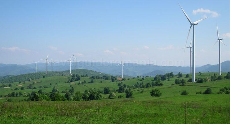 czech village Banat Mountains Natural Park Portile de Fier sf elena eoliene