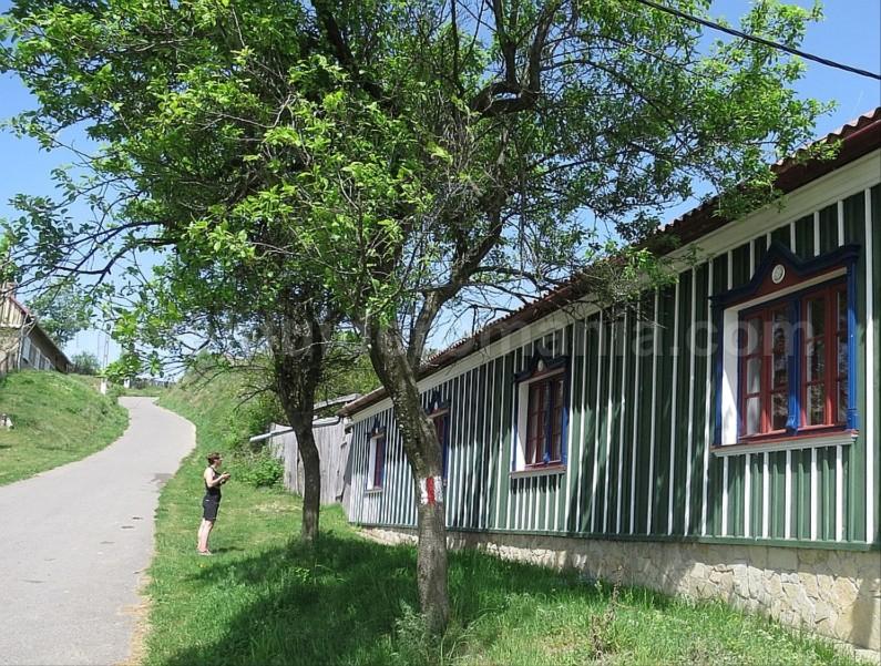 czech village Banat Mountains ravensca