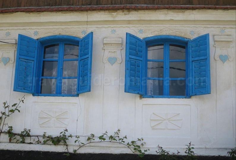 czech villages Banat Mountains Natural Park Portile de Fier houses