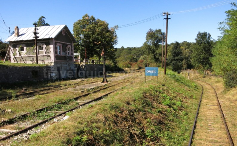 garliste railway station anina oravita oldest mountain railway in Romania