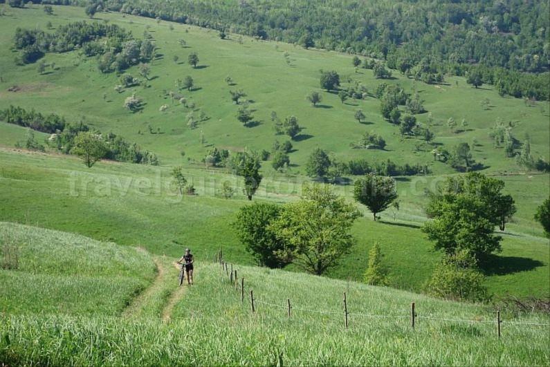 mountain bike garnic sfanta elena czech villages Banat Mountains Natural Park Portile de Fier