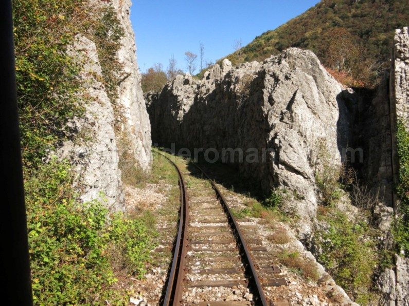 the oldest mountain railway in Romania anina oravita rocks
