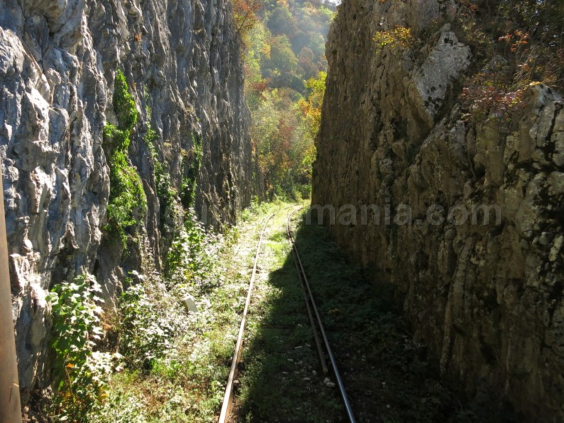 the oldest mountain railway in Romania anina oravita