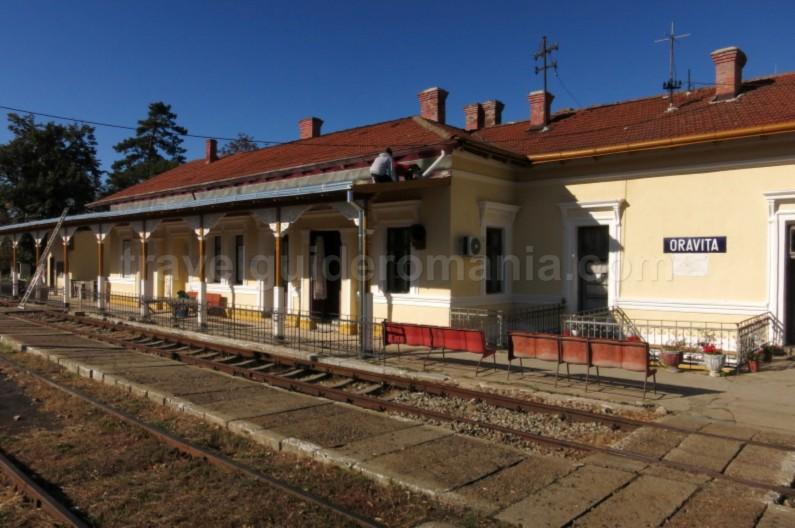 the oldest mountain railway in Romania anina oravita railwaystation