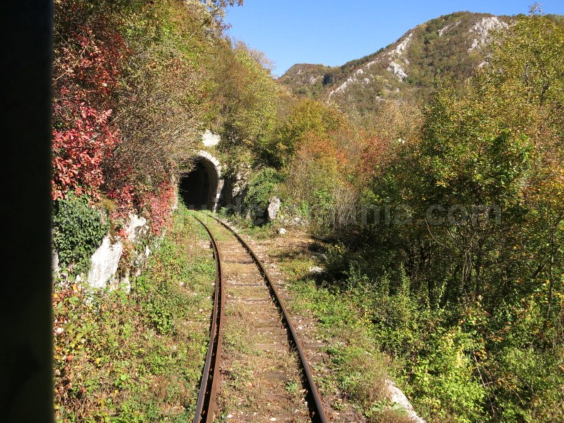 the oldest mountain railway in Romania tunnel anina oravita