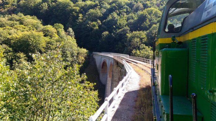 viaduct jitin the oldest mountain railway in Romania anina oravita Semeringul Banatean