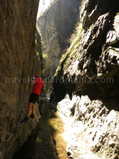 fagaras fagaras Valea lui Stan (Stan's Valley) Canyon cable
