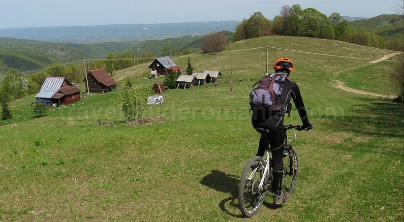mountain biking Ponoara Bratcutei Valley Padurea Craiului