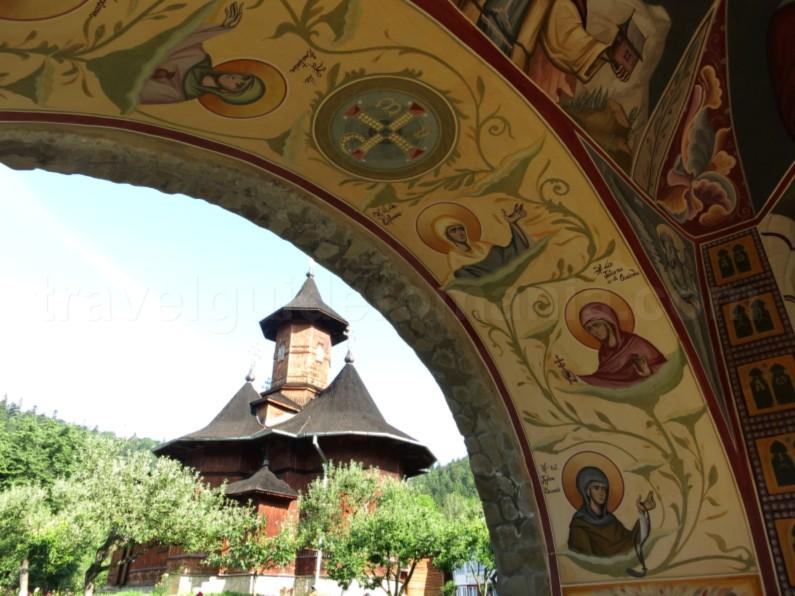 monastery agapia veche clopotnita Natural Park Vanatori Neamt