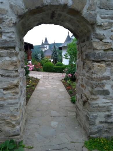 secu monastery Natural Park Vanatori Neamt biserica