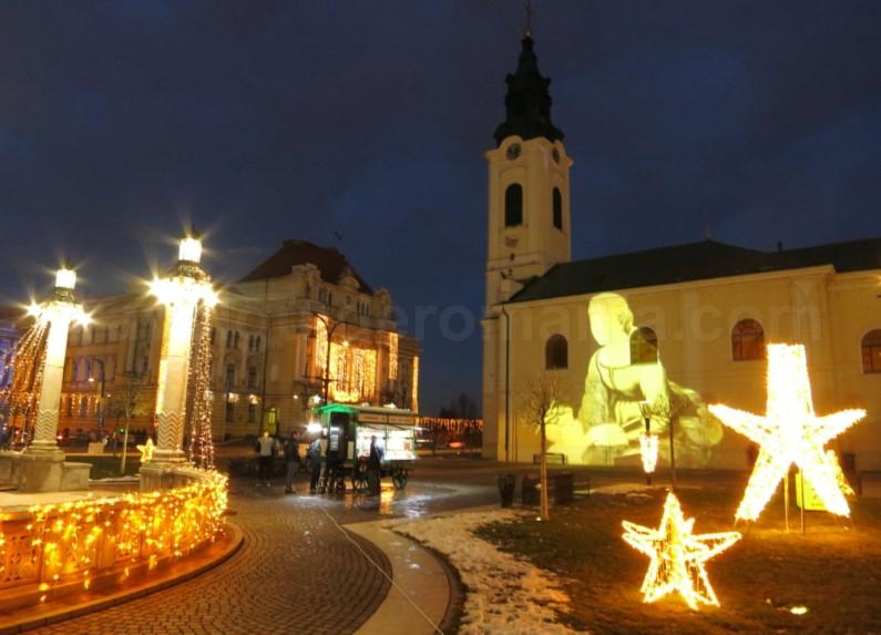 Unirii Square Oradea Romania