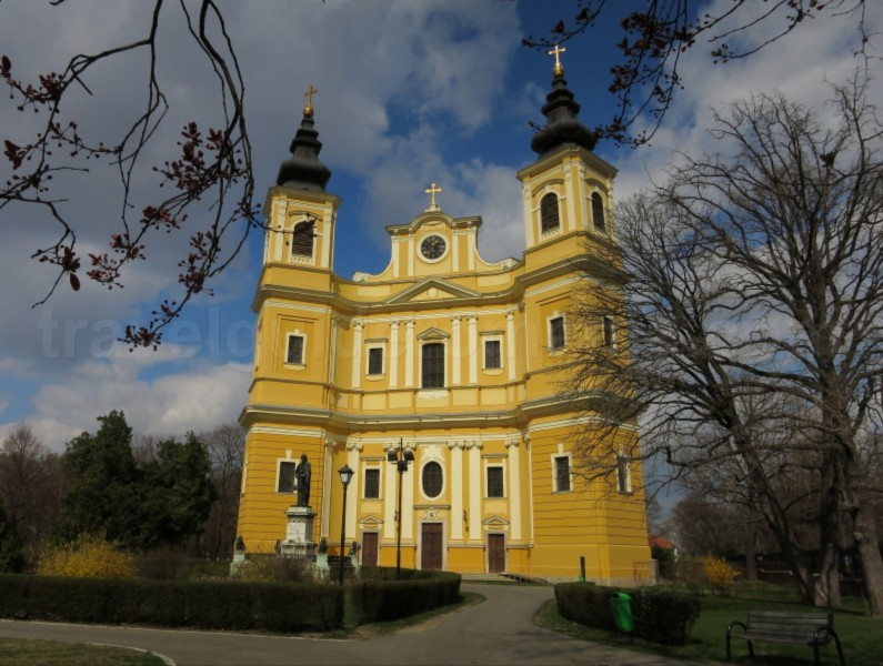 Roman Catholic Cathedral Oradea Romania