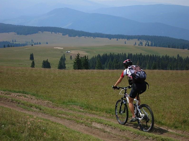 cindrel ridge mountainbiking transalpina