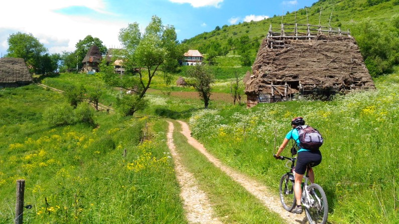 mountain biking trascau