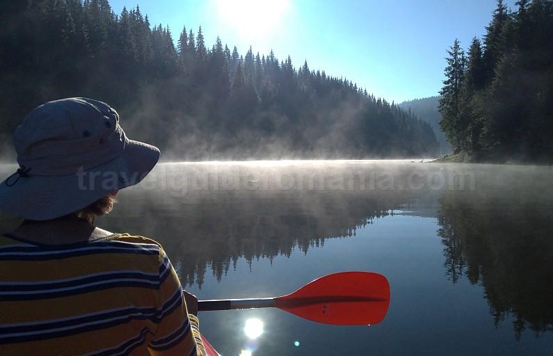 belis fantanele lake cluj morning
